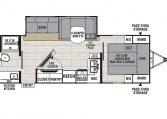 Spirit 2557RB floorplan